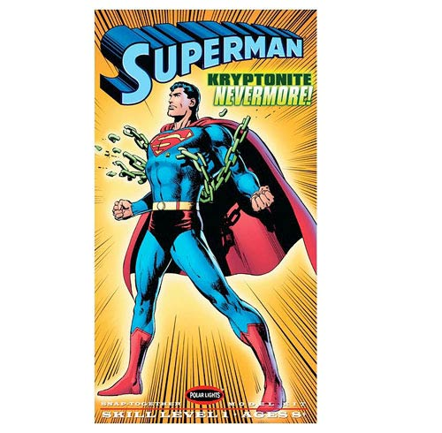 Superman 1:8 Scale Snap-Fit Model Kit