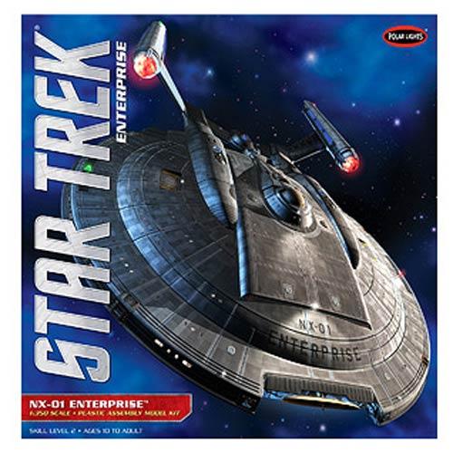 Star Trek Enterprise NX-01 Ship 1:350 Scale Model Kit