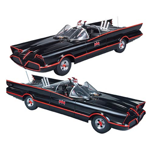 Batman 1966 TV Series Batmobile Snap-Fit Model Kit 2-Pack