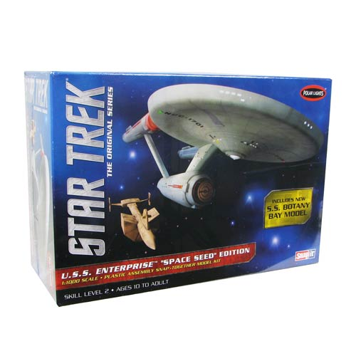 Star Trek U.S.S. Enterprise Space Seed Snap-Fit Model Kit