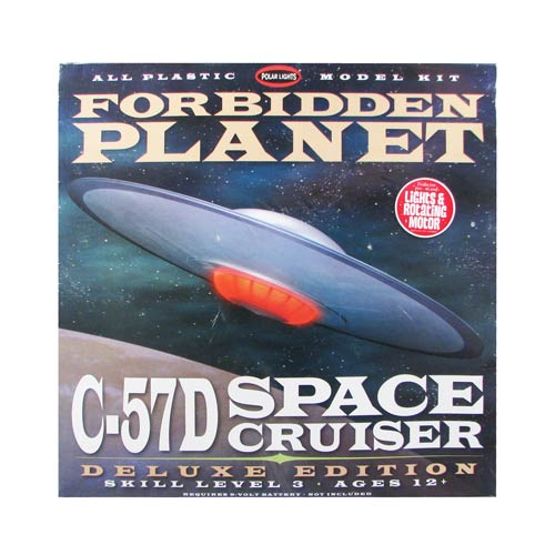Forbidden Planet C-57D Starcruiser Deluxe Edition Model Kit