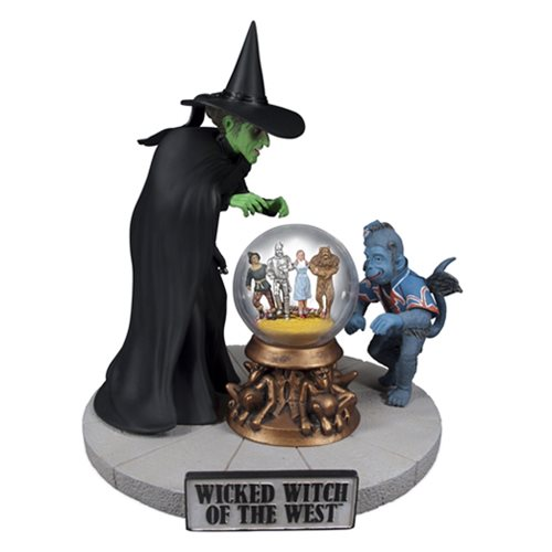 Wizard of Oz Wicked Witch 1:8 Scale Prepainted Resin Model Kit