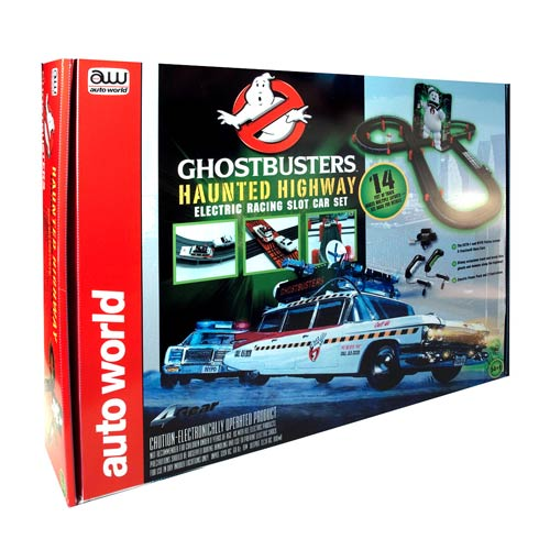 Ghostbusters Haunted Highway Slot Car Racing Playset