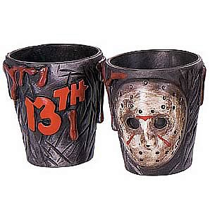 Friday the 13th 2-Pack of Shot Glasses - Jason