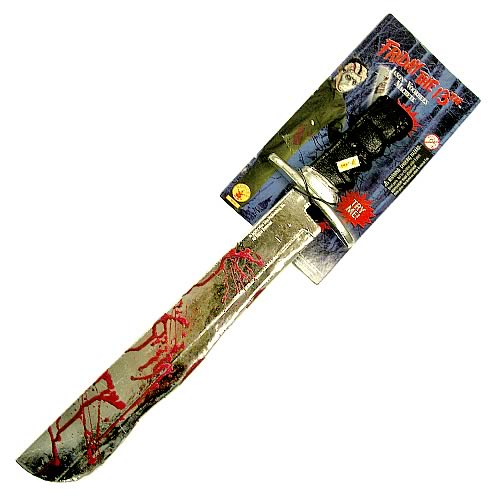 Friday the 13th Deluxe Jason Voorhees Machete with Sound