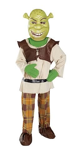Kids Deluxe Shrek Costume