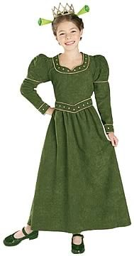 Kids Deluxe Princess Fiona Costume