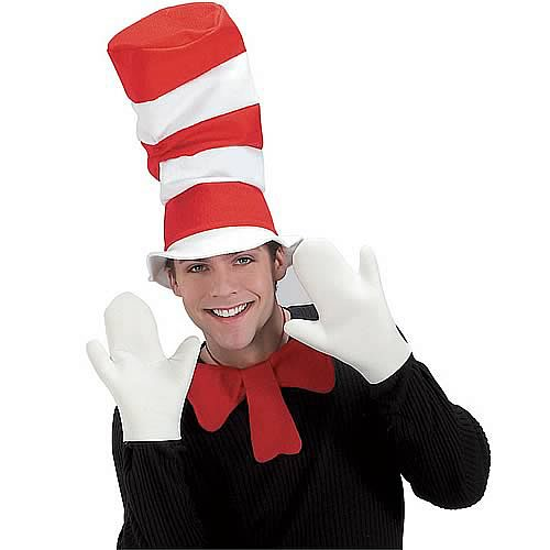 Cat in the Hat Adult Set