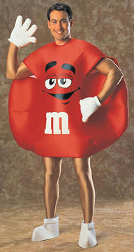 M&M Red Deluxe Costume