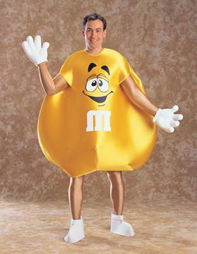 M&M Yellow Deluxe Costume