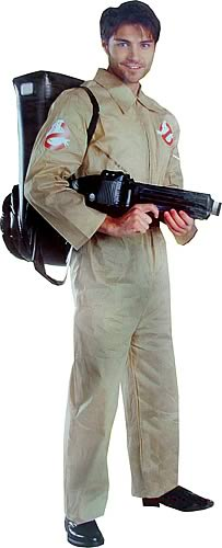 Deluxe Adult Ghostbuster Costume
