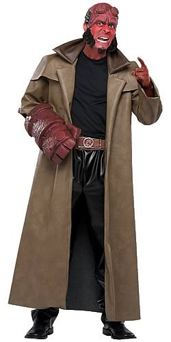 Hellboy Deluxe Adult Costume
