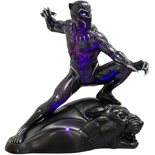 Black Panther Light-Up Life-Size Statue