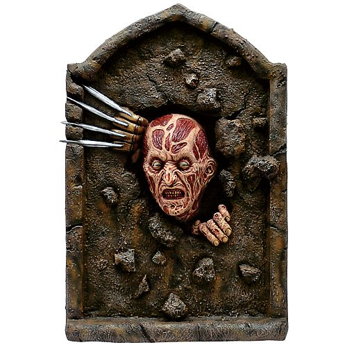 Nightmare on Elm Street Freddy Krueger Tombstone