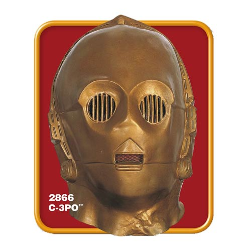 Star Wars C-3PO Deluxe Adult Vinyl Mask