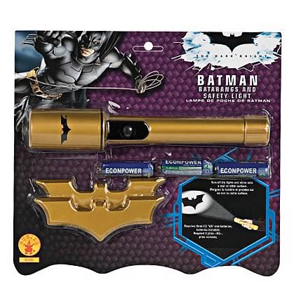 Batman Dark Knight Rises Batarangs and Safety Light Set
