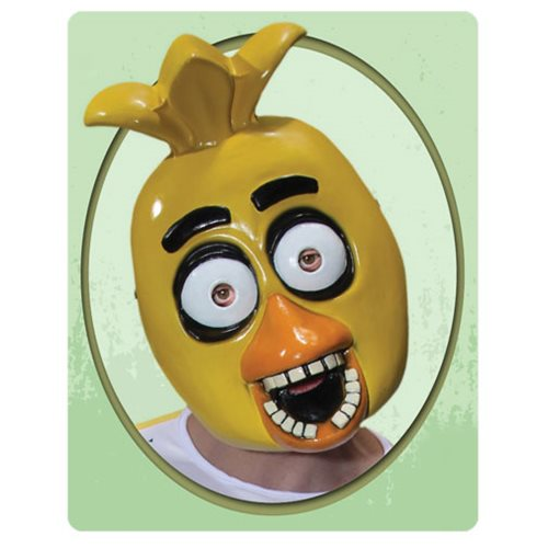 Five Nights at Freddy's Chica PVC Adult Mask -  Rubies