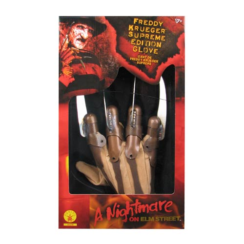Nightmare on Elm Street Freddy Supreme Edition Adult Glove