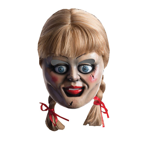 The Conjuring Annabelle Mask and Wig Set