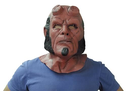 Hellboy Deluxe Latex Mask