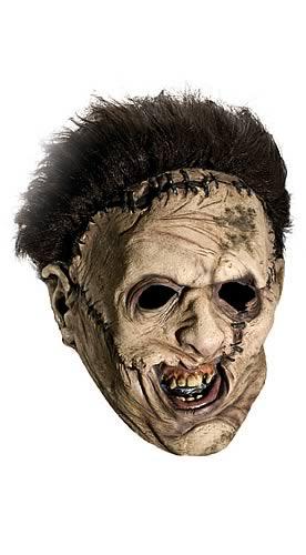 Leatherface Adult 3/4 Vinyl Mask