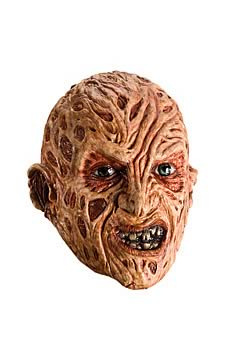 Freddy Krueger Adult 3/4 Vinyl Mask
