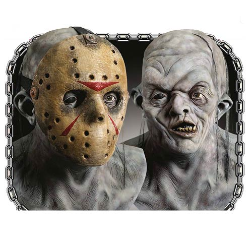 Jason Voorhees without His Mask http://www.entertainmentearth.com/item_archive/items/Jason_Voorhees_Deluxe_Overhead_Latex_Mask.asp