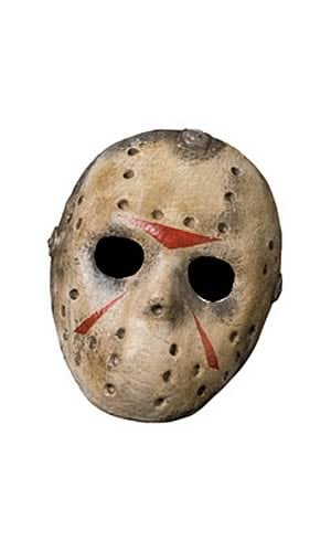 Jason Voorhees Adult Costume Hockey Mask