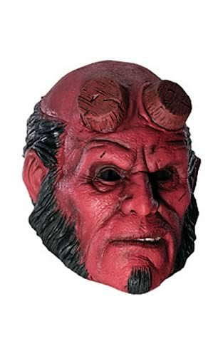 Hellboy Adult 3/4 Vinyl Mask