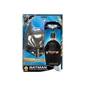 Batman Dark Knight Rises Child Medium Action Blister Suit