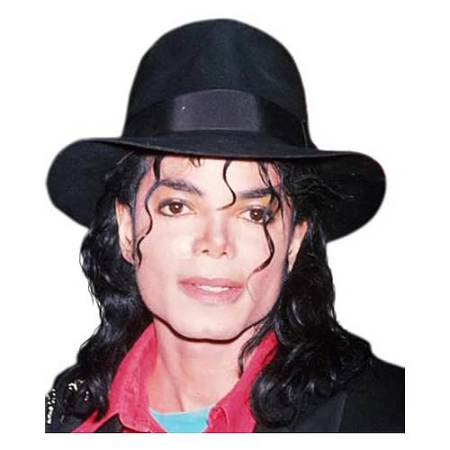 Michael Jackson Black Fedora Hat