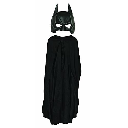 Batman Dark Knight Rises Child Size Cape and Molded Mask Set