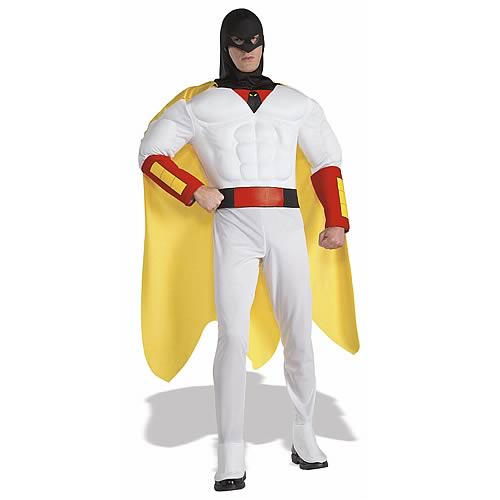 [adult swim] Space Ghost Deluxe Muscle Chest Costume
