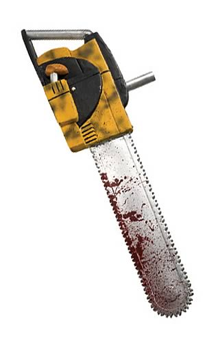 Leatherface 27-inch Chainsaw Replica