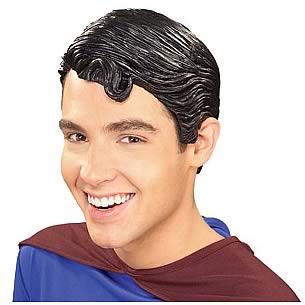 Superman Returns Adult Vinyl Wig