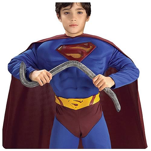 Superman Bendable Steel Bar with Sound