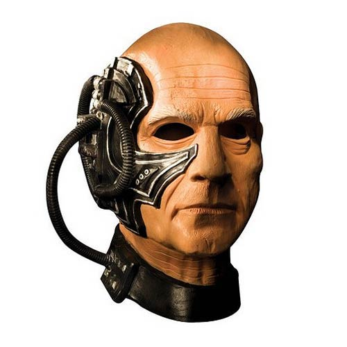 Star Trek Next Generation Locutus Deluxe Latex Adult Mask