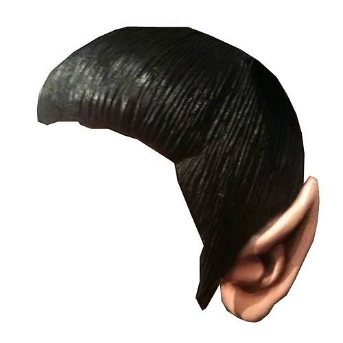 Star Trek Movie Classic Spock Wig with Ears