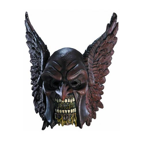 Blackest Night Hawkman Zombie Deluxe Latex Mask