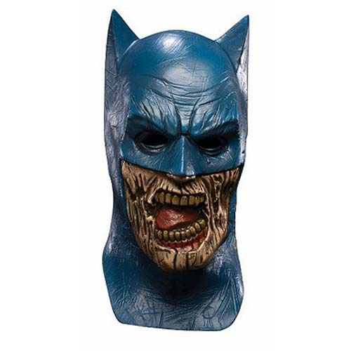 Blackest Night Batman Zombie Deluxe Latex Adult Mask