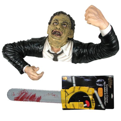 Texas Chainsaw Massacre Leatherface Grave Walker Statue