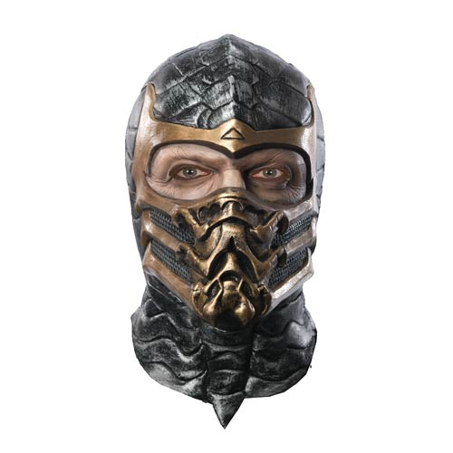 Mortal Kombat Scorpion Deluxe Latex Adult Mask