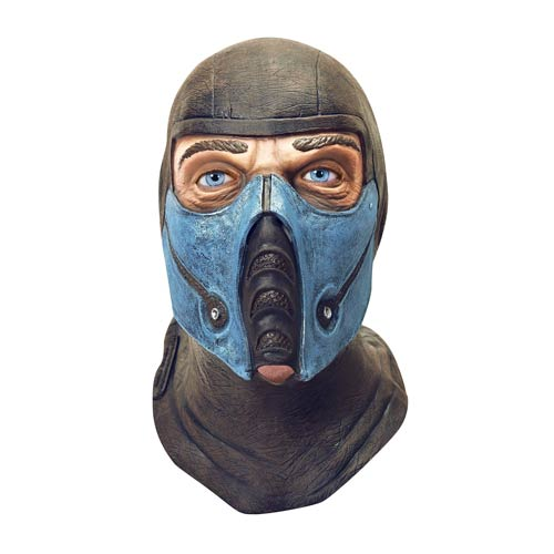 Mortal Kombat Sub-Zero Deluxe Latex Adult Mask