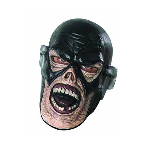 Blackest Night The Flash Zombie Deluxe Latex Mask