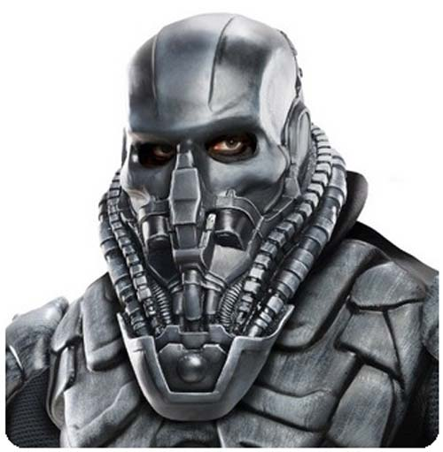 Superman Man of Steel Movie General Zod Overhead Latex Mask