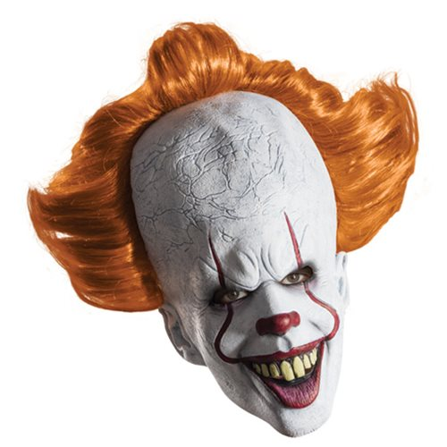 It Pennywise Overhead Mask with Wig