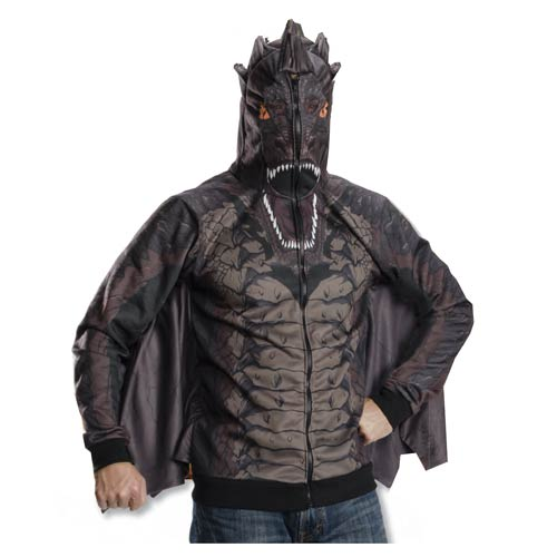 The Hobbit Smaug Zip-Up Hooded Costume