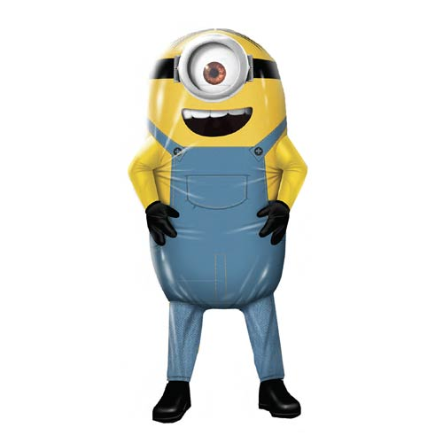 Despicable Me Minion Stuart Deluxe Adult Air-Blown Costume
