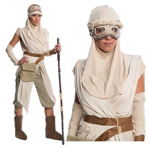 Star Wars: The Force Awakens Rey Grand Heritage Costume