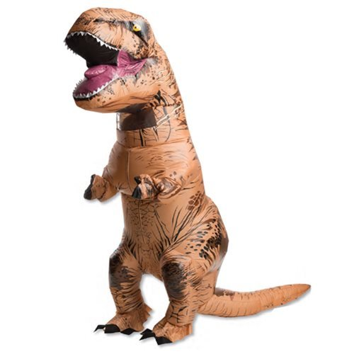 Jurassic World T-Rex Air-Blown Adult Costume with Sound